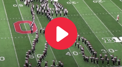 "Ohio State's Band Performing Michael Jackson's ""Moonwalk"" is Breathtaking"
