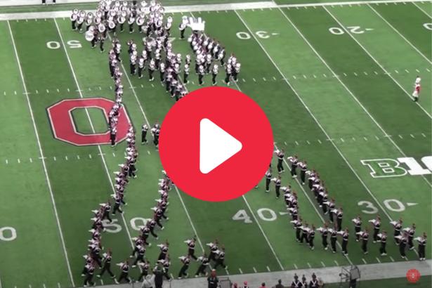 "Ohio State's Band Performing Michael Jackson's ""Moonwalk"" is Breathtaking"