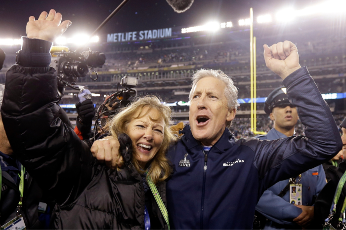 Who is Pete Carroll's Wife?