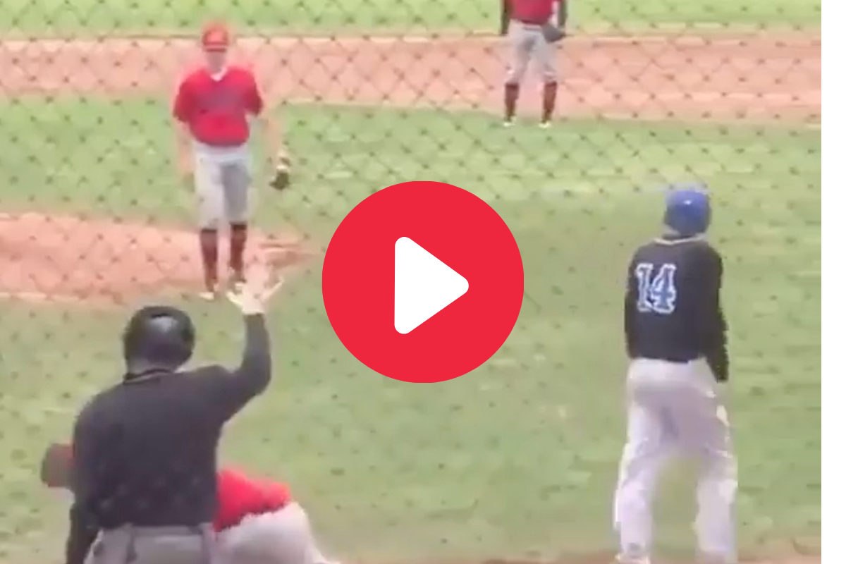 Pitcher Gives Batter Middle Finger, Sparks Nasty Fight