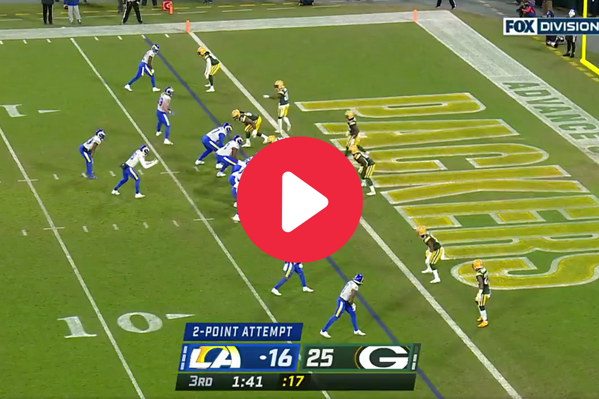 "Rams' ""Hook-and-Ladder"" 2-Point Conversion Went From Rookie to Rookie"