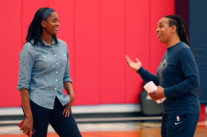 Swin Cash's NBA Front Office Job is Perfect for Retired Stars