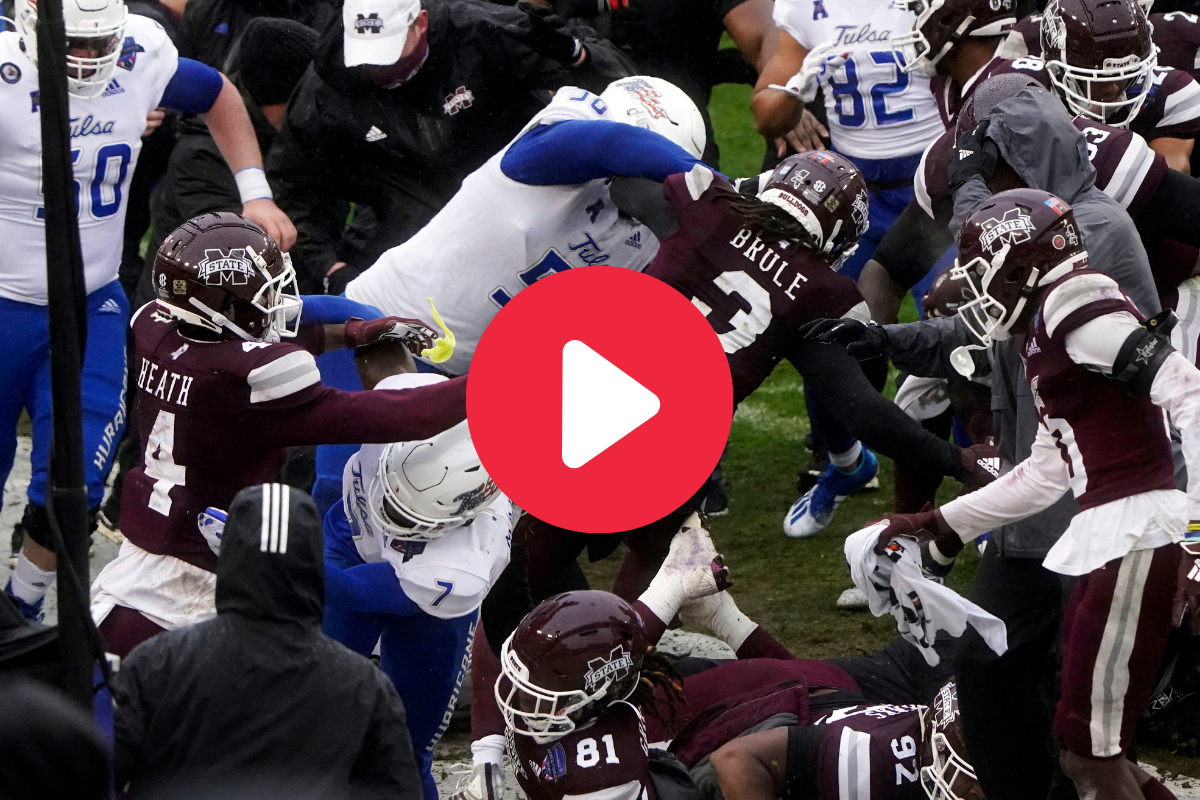 Nasty Brawl Breaks Out After Armed Forces Bowl