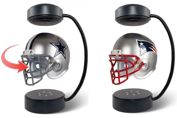 These Floating Helmets Are Perfect for Every Man Cave