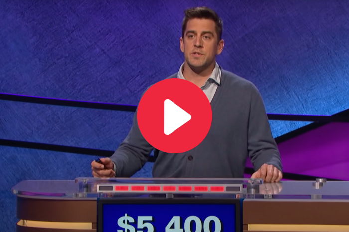 "Aaron Rodgers Dominates Category on ""Celebrity Jeopardy!"""