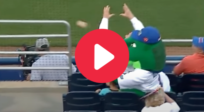 Florida Mascot Saves Boy From Foul Ball With His Head
