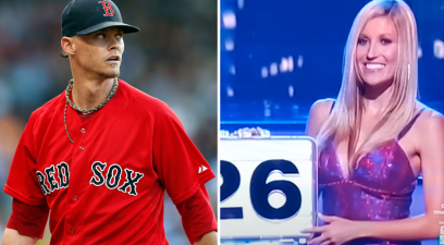 "Clay Buchholz's Wife Was a ""Deal or No Deal"" Suitcase Model"