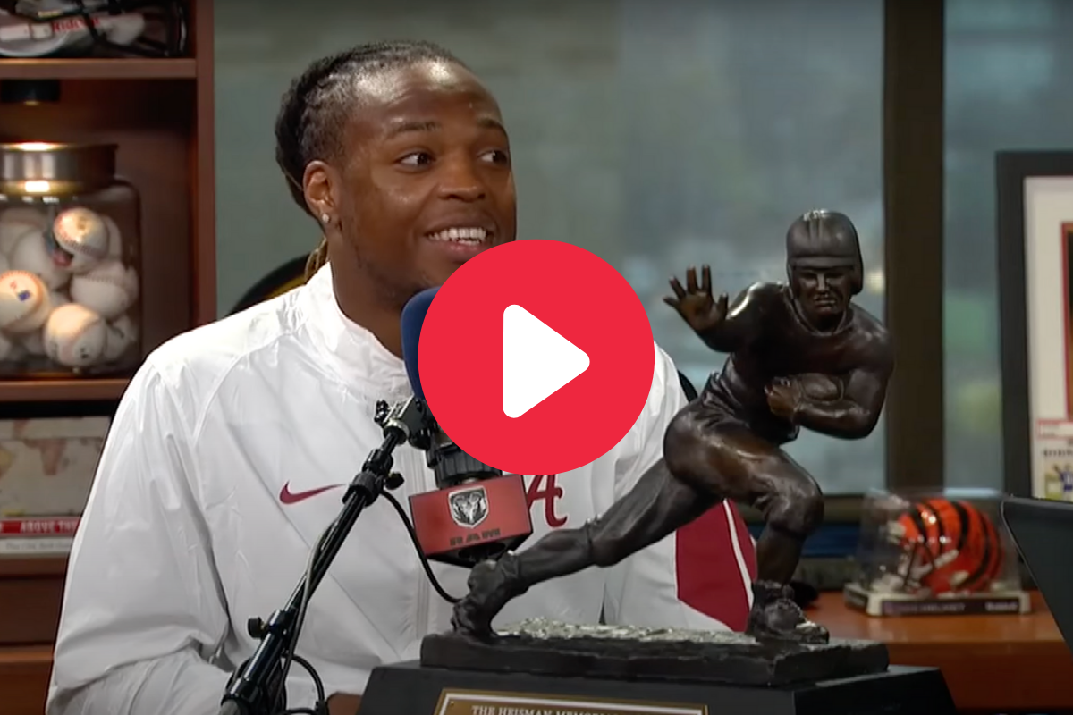 Derrick Henry's Impression of Nick Saban Captured Coach's Anger