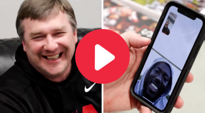 """Kirby Smart Prank Calls UGA Greats in """"I'm Busy"""" FaceTime Challenge"""