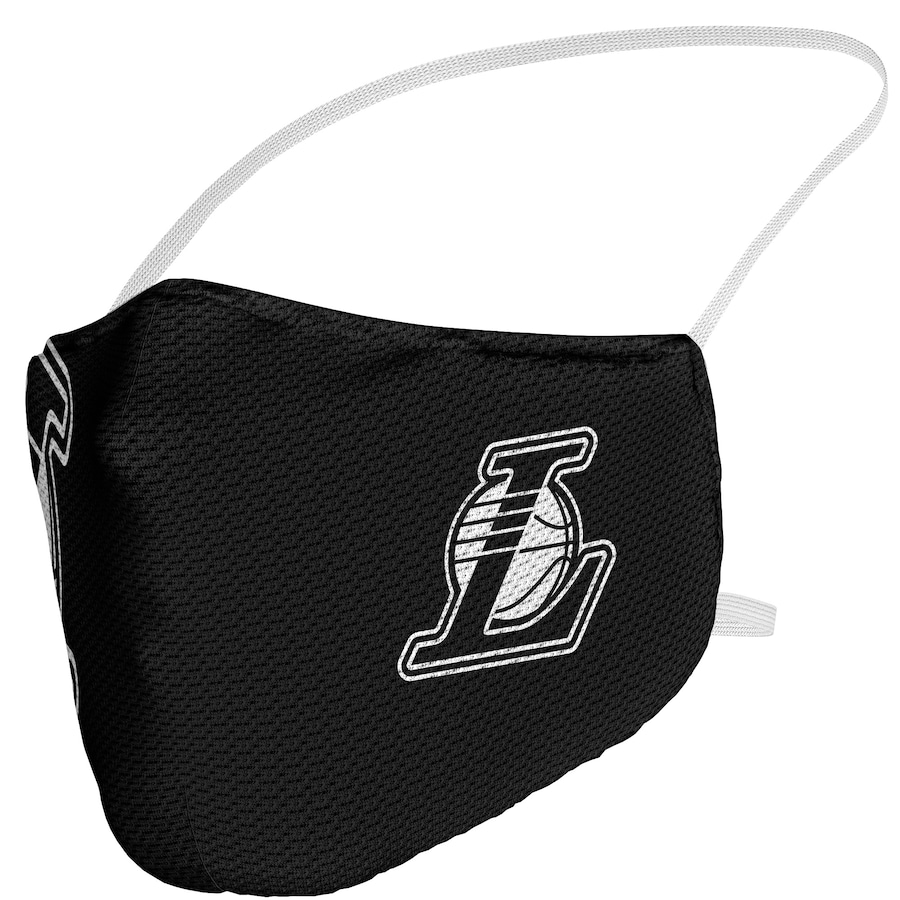 Los Angeles Lakers Fanatics Branded Adult Blackout Logo Face Covering