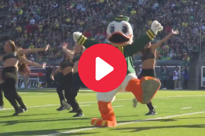 Oregon Mascot's Viral Dance Routine Made Everyone Go Wild