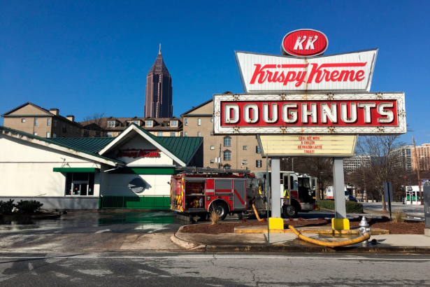 Shaq's Historic Atlanta Krispy Kreme Damaged by Raging Fire