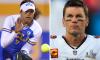Tom Brady Maya Brady Softball