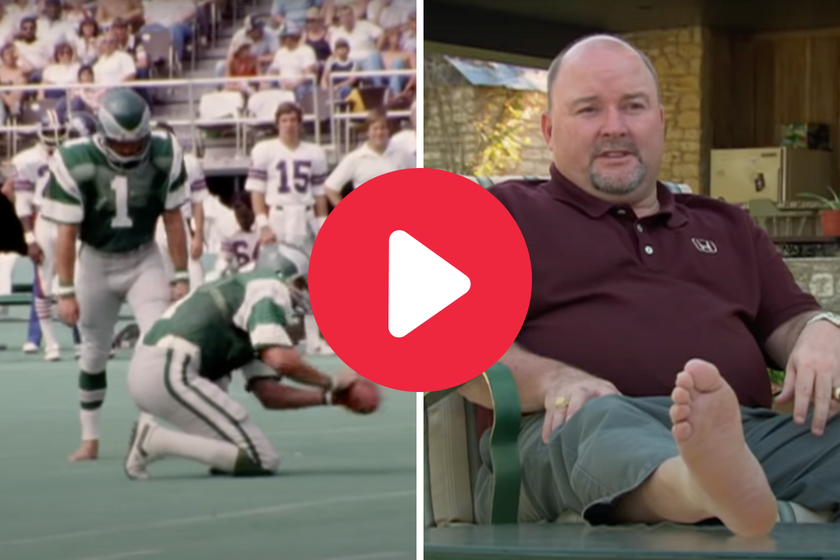 """Tony Franklin Became the """"The Barefoot Kicker,"""" But Where is He Today?"""
