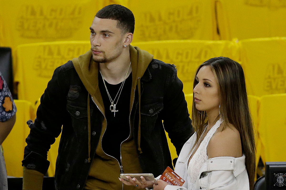 Zach LaVine Started Dating His Future Wife in High School