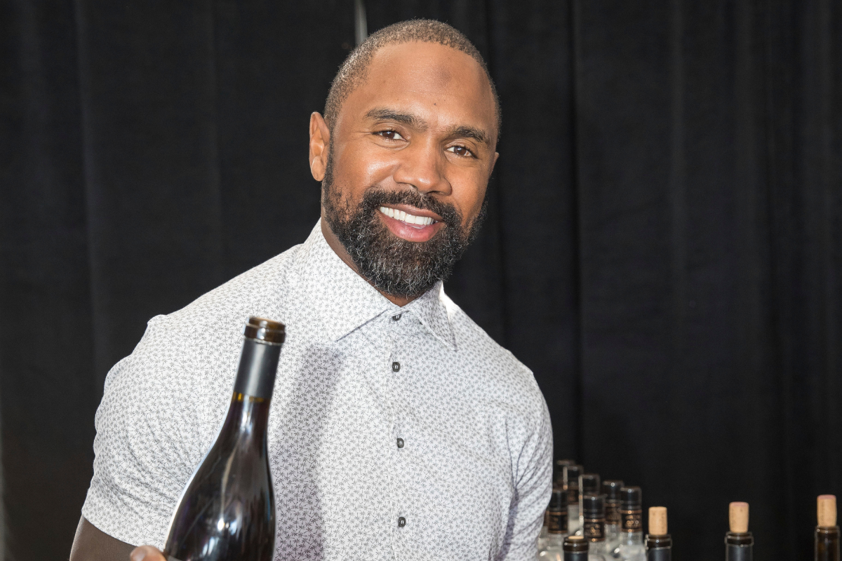 """Charles Woodson Has His Own Wine Called """"Intercept"""""""