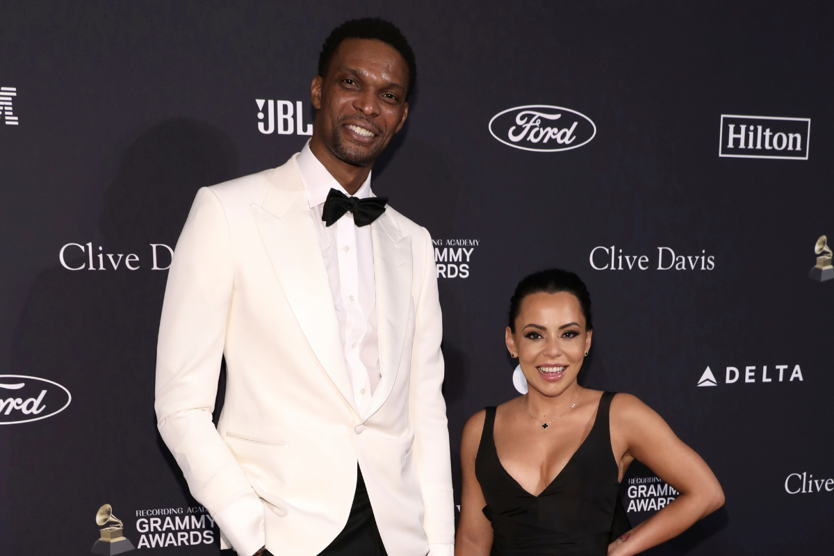 Chris Bosh Married a Model & Raise a Happy Family Together