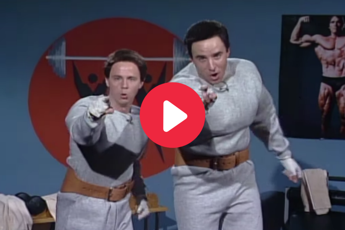 'Hans and Franz' Pump Up America in Timeless SNL Skit