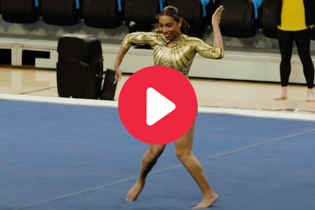 Gymnast's Viral Janet Jackson Routine Even Impressed the Pop Icon