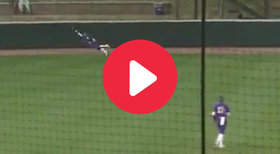 "LSU Softball Star's Soaring ""Superwoman"" Catch Goes Viral"