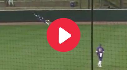 "LSU Softball Star's Soaring ""Superwoman"" Catch Goes Viral"