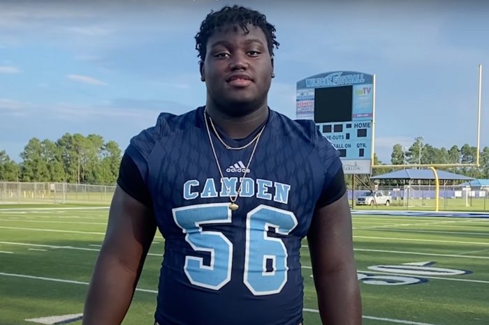 330-Pound Tackle Beefs Up Georgia's Future Offensive Line