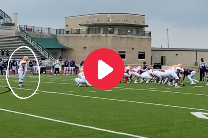 285-Pound College Kicker Goes Viral After Booting Game-Winning Field Goal