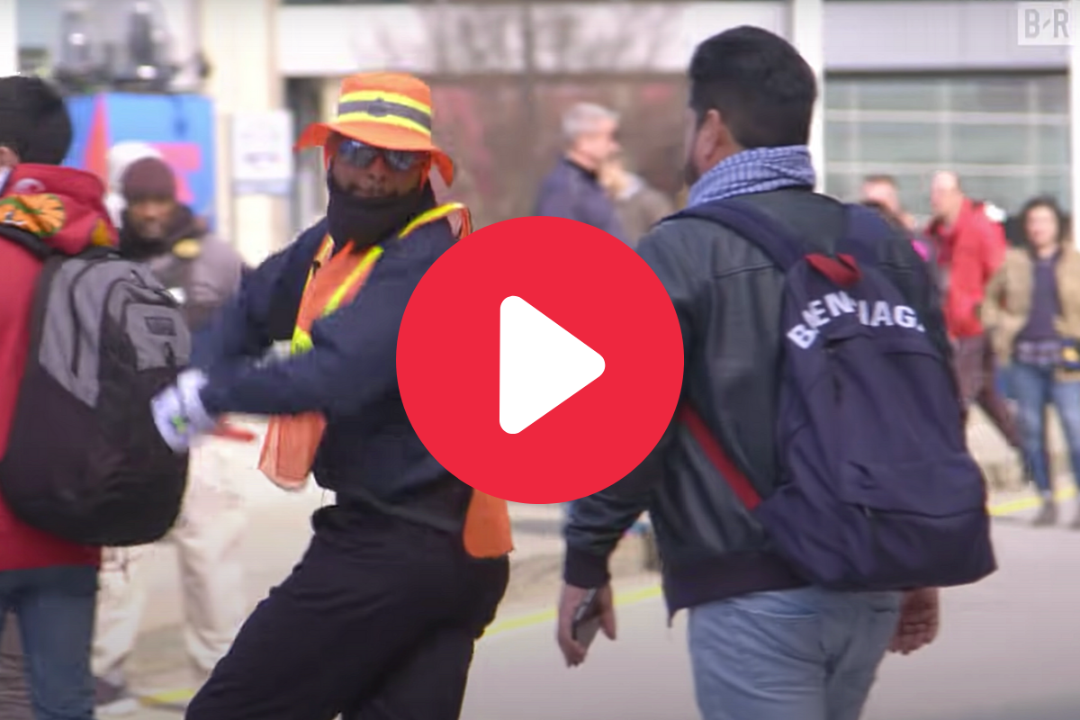 Odell Beckham Jr. Pranks Clueless Fans as Dancing Crossing Guard