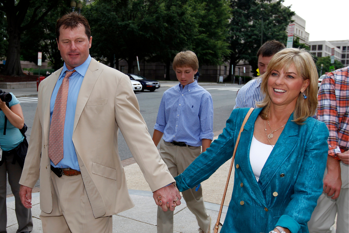 Roger Clemens' Wife Always Has Her Star Husband's Back