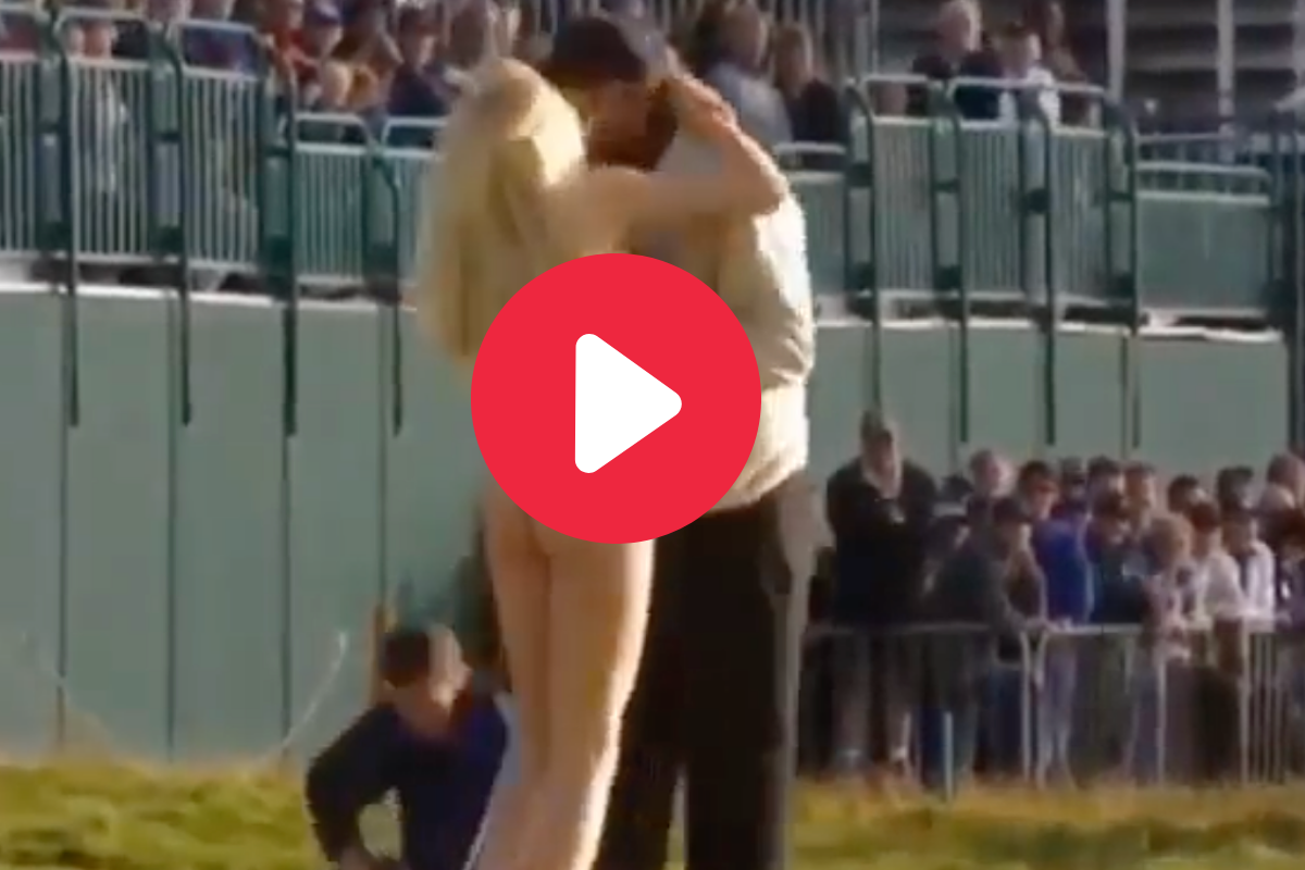 The Streaker Who Planted a Kiss on Tiger Woods (And Got Away With It)