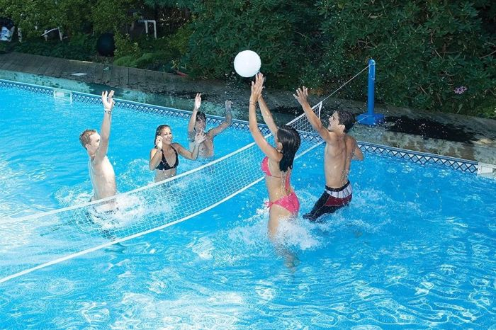 12 Pool Volleyball Nets for Hot Afternoons (And Competitive Families)