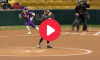 Aliyah Andrews LSU Home Run