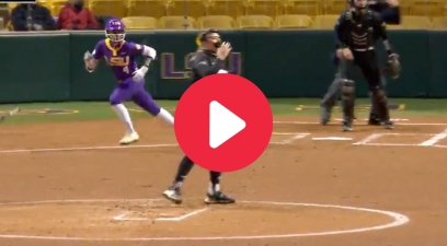 Aliyah Andrews' Inside-The-Park HR Showed Off Her Blazing Speed