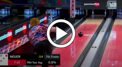 Teenage Bowler Converts Rare 7-10 Split & Makes TV History
