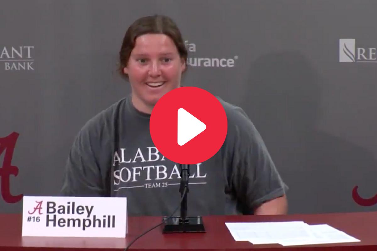 Bailey Hemphill's Alabama Recruiting Story is Truly Inspirational
