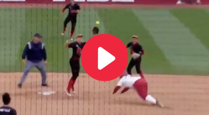 "Bailey Hemphill's ""Face Plant"" Steal Made Everyone in Tuscaloosa Laugh"