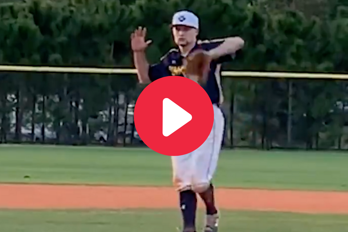 "Sneaky Pitcher's ""Invisible Ball"" Pitch Looked Like Witchcraft"