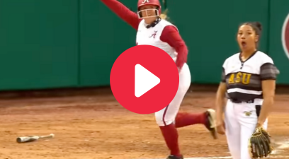 Alabama Freshman Blasts 3-Run HR for First Career Hit