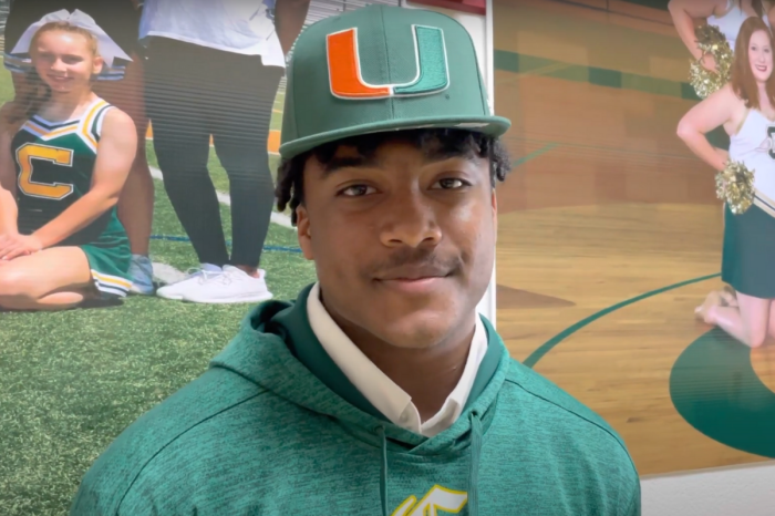 Tee Martin's Son Commits to Baseball (& Maybe Football) at Miami