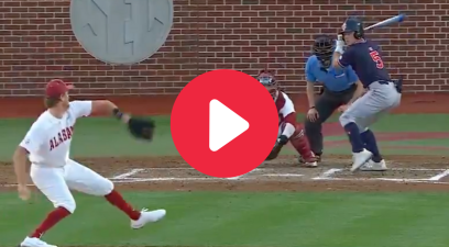 Auburn's Inside-The-Park HR Caught Alabama Sleeping