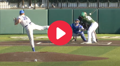 "Lucky Hitter's ""Behind-the-Back"" Bunt Was Accidentally Perfect"
