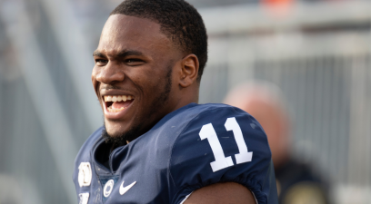Micah Parsons Does Everything to Protect His Young Son