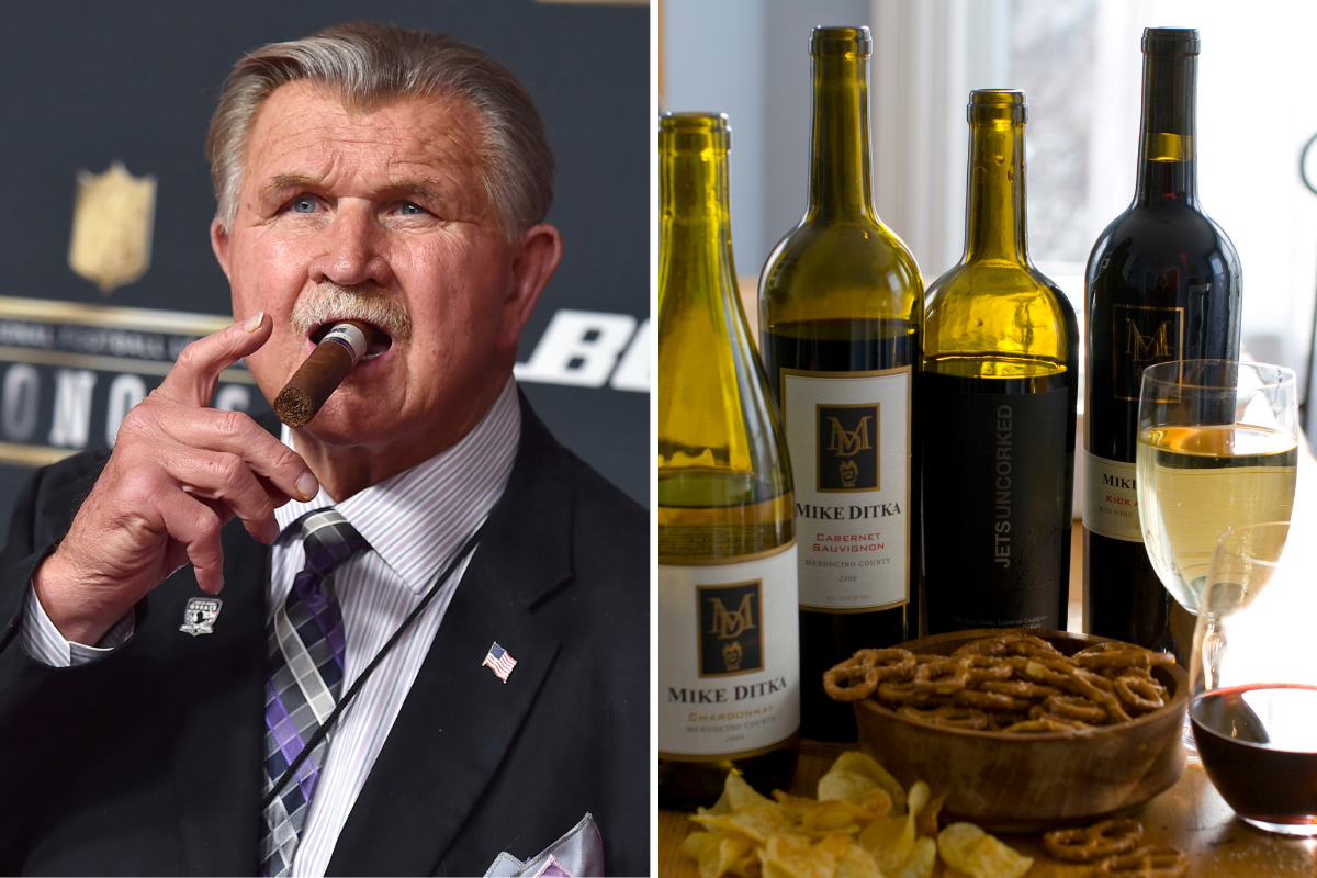 Mike Ditka Has His Own Wine Because He's a Badass
