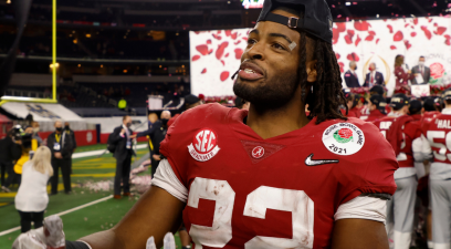 Najee Harris Outran a Rough Childhood & Became an Alabama Legend