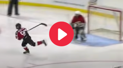 "9-Year-Old's Incredible ""Spin Move"" Goal Started His NHL Journey"