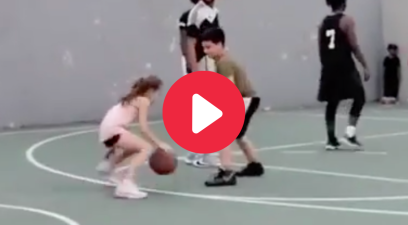 10-Year-Old Girl Embarrasses Boy With Vicious Crossover