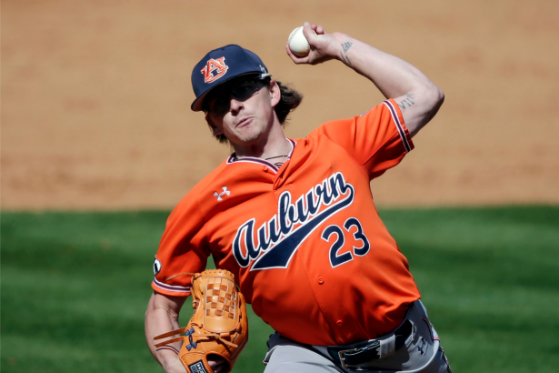 Meet Peyton Glavine: Auburn's Bullpen Weapon With MLB Hall of Fame Genes