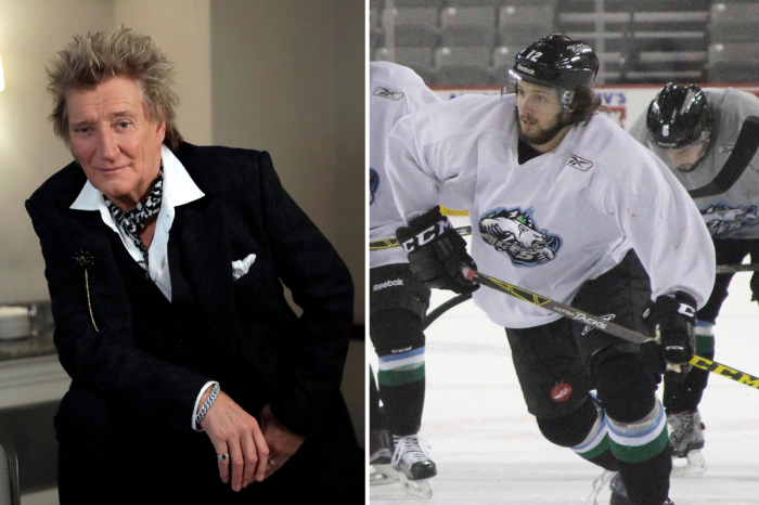 Rod Stewart's Son is a Pro Hockey Player With Serious Skills