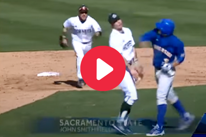 Dirty Punch Sparks Bench-Clearing Brawl in College Baseball Game