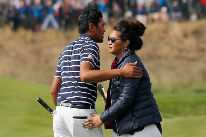 Who is Tony Finau's Wife?